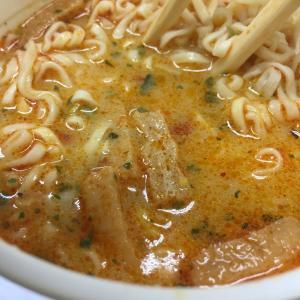 カップ麺史上最高の味!ラクサカップヌードルがうまい!シンガポール風ラクサ