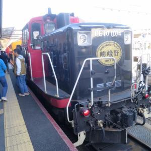 ロマンティック嵯峨野トロッコ列車!保津川と保津峡の車窓を楽しむ嵯峨野観光鉄道に乗りました!