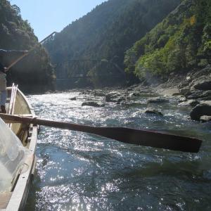 京都亀岡 保津峡川下りは創業400年 日本一の観光川下り!亀岡出発から嵐山到着まで