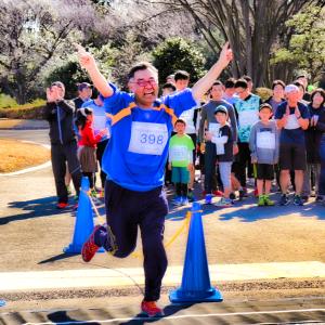 クレバーな走りで個人10キロマラソン完走しました! 新春昭和記念公園マラソン2020