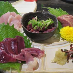 奈良グルメの大和肉鶏&近大マグロを食べました