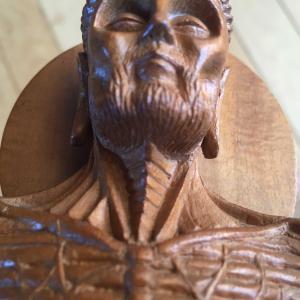 釈迦苦行像/釈迦断食像 - 仏教聖地・インド ブッダガヤにて購入