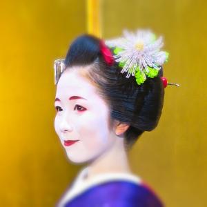 北海道・札幌で京都の舞妓さんと二人だけの記念写真