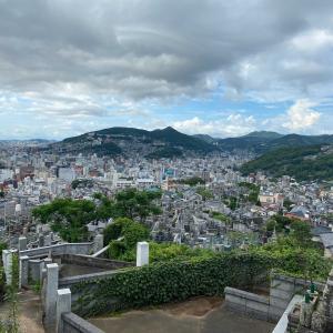 どんの山公園ウォーキング  長崎東山手・活水女子大からどんの山の徒歩コース