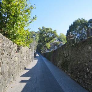 長崎・寺町通り散策 おイネさんのお墓が幣振坂を上った皓台寺にありました