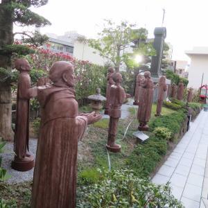 聖トマス西と十五殉教者顕彰の碑 - 長崎・中町教会の記念庭園