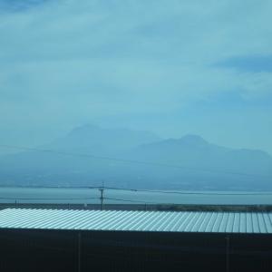 885系特急「かもめ」で長崎駅~博多駅へ。長崎本線車窓の有明海が美しい!