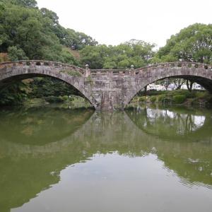 長崎県諫早市 諫早眼鏡橋! 永久不壊の石橋はうつくしい石造りのアーチ橋