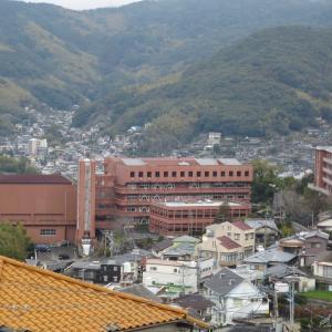 瓊浦(けいほ)高校と蛍茶屋界隈の長崎カルルス?名残の古い建物群