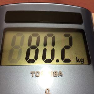 70日間で 7kg痩せた!簡単なダイエット方法 ★体重 86.9kgから 80.2kgへ(802=八王子)