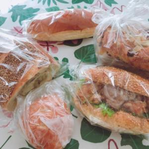 パン屋さんのハシゴ