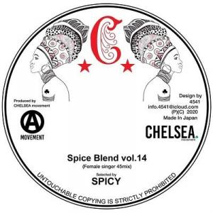[取扱店舗限定]Spice Blend vol. 14 FEMALE SINGER 45 MIX / Spicy of Chelsea Movement