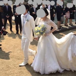 結婚式が終わりました🌟
