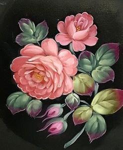 My rose in oil.