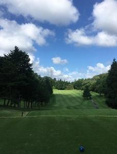 夏、ゴルフ。