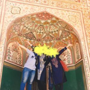 三姉妹インド旅 〜アンベール城へ〜