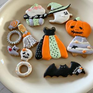レポ♡ハロウィンアイシングクッキー