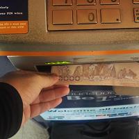 海外ATM(タイ)楽天銀行キャッシュカード利用時の現金引き出し手数料はいくら?
