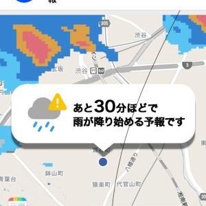 即効天気予報