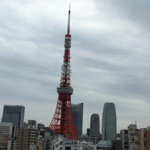 日が暮れて☆東京タワー