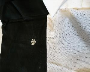 黒紋付きを洗う、バッサリ切る❗