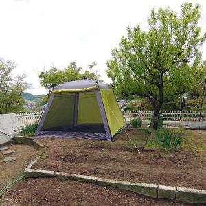 庭キャンプ場作りを振り返って(1)