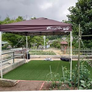庭キャンプ場のプチ改造