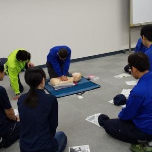 35名が参加!救命講習会を社内で開催しました。