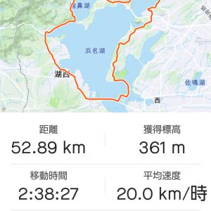 自転車部公式練習会 浜名湖一周(グルメゆるポタ)