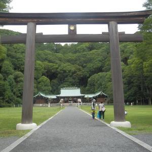 静岡護国神社と地元地域のお菓子やさん