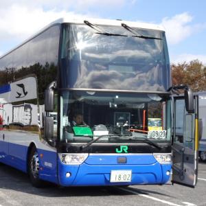 【バスに乗って出かけよう】着々と増えるスカニア二階建てバスの仲間たち。
