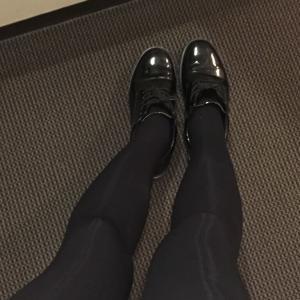 タイツ脚×タイツ脚