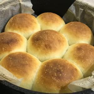 ダッチオーブンでパン作り!上蓋に炭は不要、自宅コンロで簡単に作ろう