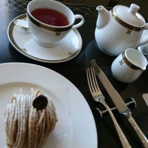 帝国ホテルでお茶を