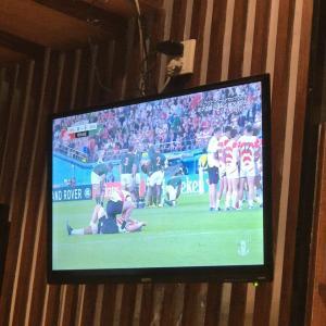 今宵も中国でおでんを肴にラクビーワールドカップ歴史的試合を観戦