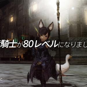 【FFXIV】竜騎士が80レベルになりました