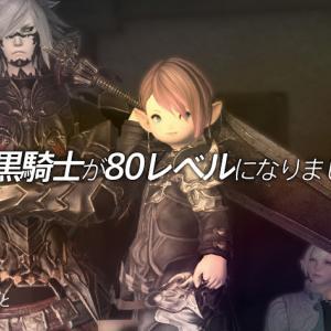 【FFXIV】暗黒騎士が80レベルになりました