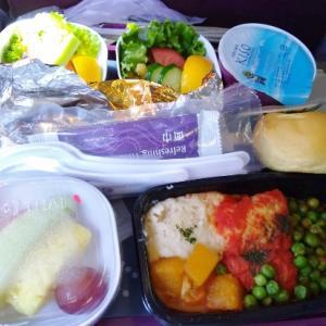 タイ航空の『ローファット・ローカロリー』な機内食
