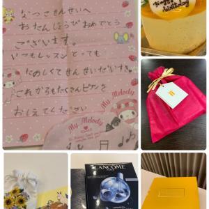 8月はお誕生日月間!!