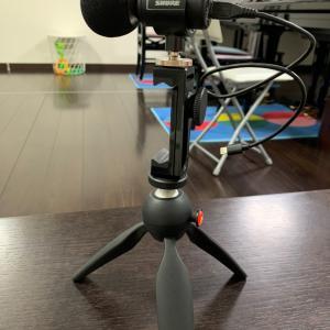 動画録音のためのマイク