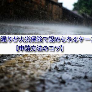台風の雨漏りが火災保険で認められるケースとは?【申請方法のコツ】