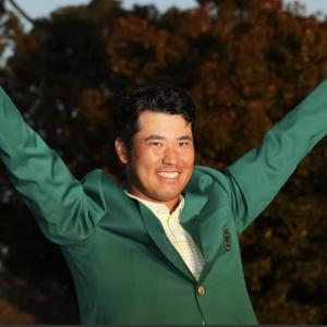 松山選手、マスターズ優勝‼️感謝‼️