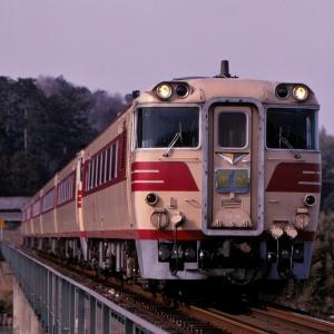紀勢本線の宮川の橋梁を行く懐かしのキハ82系特急「南紀」他(多気~徳和)