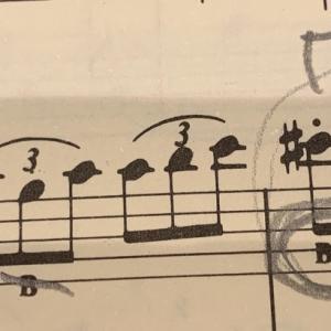 【第18課】導音の運指の練習 No.5 Allegretto