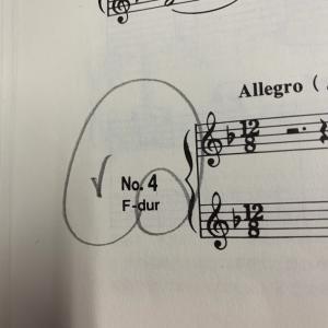 【第18課】導音の運指の練習 No.4 Allegro