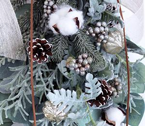 【募集】クリスマススワッグ2019★アーティフィシャルフラワー(造花)です