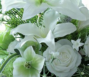 カサブランカのお花が本物に見間違えるほど美しいです♪リクエストレッスン