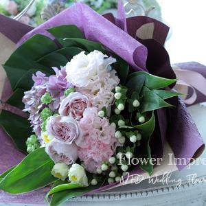 感謝を伝える花束♡NFDウエディングフラワーコース