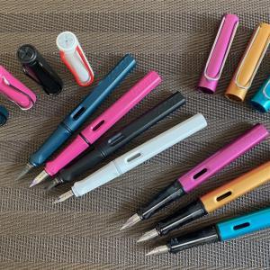 【万年筆レビュー】LAMYサファリ&アルスター。デザイン・使い勝手・価格と三拍子揃ったコスパの高い万年筆