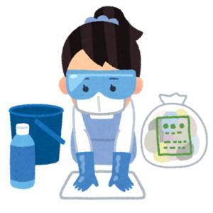 新型コロナウイルスで店内消毒|保険の適用は?消毒液で濡れた商品の補償はどうなるの?